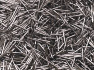 High carbon steel pins for tenter pin plates