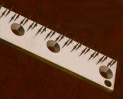 Tenter Pin Plate
